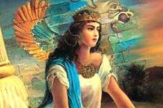 ancient persian princess   Empress Azarmidokht Sassanid daughter of Khosrow Parviz and younger ...
