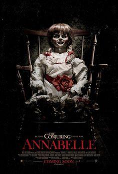 El amante de los sustos y de pasarlo mal, acertará viendo Annabelle.