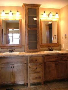 LDK Master bathroom with dual vanity