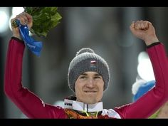 Kamil Stoch 2nd Gold Medal drugi zloty medal Winter Hats, Sport, Gold, Deporte, Sports, Yellow