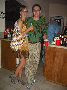 Partridge in a Pear Tree Costumes - so cute!  :)