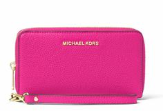 5eec60cedd3ada NWT NEW Authentic Michael Kors Mercer Large Flat MF Phone Case Wristlet  Wallet #MichaelKors #