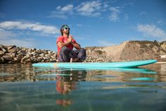 Exploring a Floating Sanctuary Through SUP Yoga Sup Yoga, Finding Peace, Paddle Boarding, Feel Good, Positivity, Explore, Bodies, Fitness, Healthy