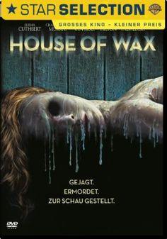 House of Wax  2005 Australia,USA      Jetzt bei Amazon Kaufen Jetzt als Blu-ray oder DVD bei Amazon.de bestellen  IMDB Rating 5,2 (59.300)  Darsteller: Elisha Cuthbert, Chad Michael Murray, Brian Van Holt, Paris Hilton, Jared Padalecki,  Genre: Horror, Thriller,  FSK: 16