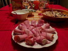 Szynka zawijana, nadziewana Beef, Fish, Meat, Pisces, Steak