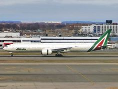 Alitalia - Wikipedia Boeing 777, Wright Brothers, World Pictures, Aviation, Aircraft, Planes, Commercial Aircraft, Civil Aviation, Sao Paulo
