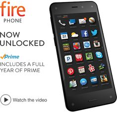 This unlocked Fire Phone (which is the same as the AT&T version with horrible reviews, only it's unlocked), is an all around excellent phone with some pretty cool technology not found on other phones. The big thing to remember here is who the manufacturer is: Amazon. That said, it's important to realize that the phone is going to be centered around the Amazon ecosystem.