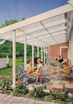 These free pergola plans will help you build that much needed structure in your backyard to give you shade, cover your hot tub, or simply define an outdoor space into something special. Building a pergola can be a simple to… Continue Reading → Modern Backyard, Backyard Pergola, Patio Roof, Pergola Kits, Pergola Ideas, Landscaping Ideas, Backyard Landscaping, Patio Ideas, Pergola Shade