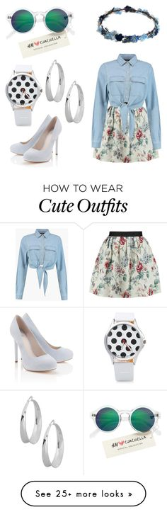 """Coachella Outfit"" by jasmineafra25 on Polyvore featuring Raoul, Lipsy, H&M, Robert Lee Morris, coachella and specialcoachella"