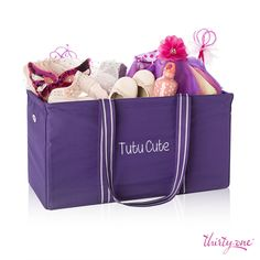 For the dancer that is tutu cute! Pack for a dance recital or a weekend dance competition!