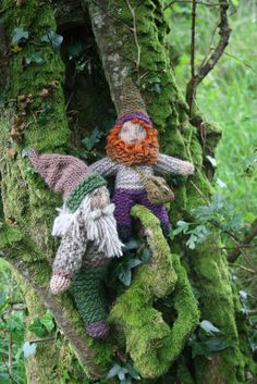 Knitted Gnomes- grade 2