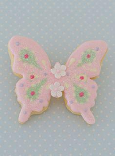 CURSO DE GALLETAS DECORADAS De Patricia Arribálzaga | Sweet Cookies, Sugar Cookies, How To Make Cookies, Food To Make, Butterfly Cookies, Cookie Decorating, Cookie Cutters, Icing, Cookie Ideas
