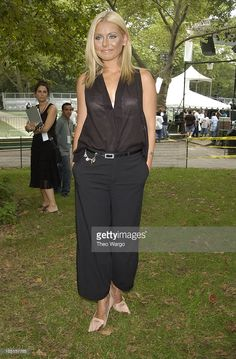 Kelly Ripa during The 3rd Annual Pantene Pro-Voice Concert at Rumsey Playfield - Central Park in New York City, New York, United States.
