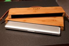 Sustainable, Hand Crafted, Beautiful—That's the Bamboo Macbook Pro Case from Silva Limited