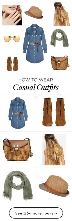 """Casual"" by amytb85 on Polyvore featuring Yves Saint Laurent, MICHAEL Michael Kors, Johnny Loves Rosie, Stefanel and Linda Farrow"