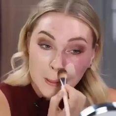 Eyebrow Makeup Tips, Eye Makeup Steps, Skin Makeup, Eyeshadow Makeup, Beauty Skin, Beauty Makeup, Cc Cream, Face Skin, Natural Makeup