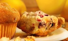 Cranberry Orange Muffins Make mini loaves and serve toasted slices for tea. Sunday Recipes, Lunch Box Recipes, Brunch Recipes, Breakfast Recipes, Dessert Recipes, Brunch Foods, Lunchbox Ideas, Desserts, Dessert Ideas