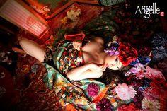 京都 花魁体験 neo花魁 変身写真館Angelle #京都 #花魁体験 #変身写真 #変身写真館Angelle #kyoto #Oiran #kimono #geisha