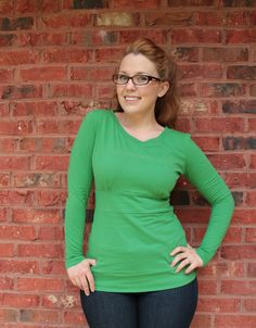 Verity Knit Dress and Shirt Pattern Now Available | Creative Notions
