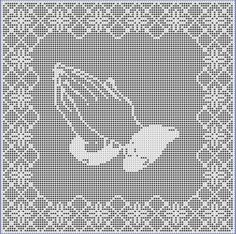 Hey, I found this really awesome Etsy listing at https://www.etsy.com/listing/204646167/praying-hands-a-filet-crochet-pattern