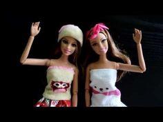 Tutoriel : jupe miniature pour nos dolls (facile) - YouTube
