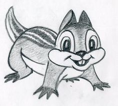 How To Draw Cartoon Hamster. Smiling, Ready To Jump :)