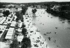 La Playa de Madrid en 1932. Se debió a una iniciativa de la Segunda República