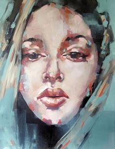1-30-16 head study (2016) Oil painting by Thomas Donaldson | Artfinder