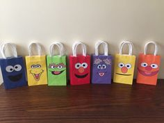 Sesame Street Gift bags 10 we can do any theme by BestPartyEverInc