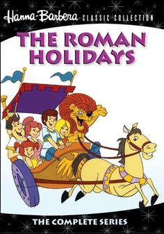 Amazon.com: The Roman Holidays Complete Series (MOD): Dave Willock, Stanley Livingston, Daws Butler, Janet Waldo, Shirley Mitchell, Joseph Barbera, William Hanna: Movies & TV