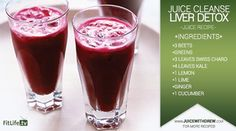 """JUICE CLEANSE RECIPE TO DETOXIFY YOUR LIVER by """"Drew Canole"""" FitLifeTv"""