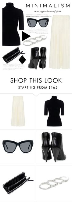 """""""The art of minimalism!"""" by ifchic ❤ liked on Polyvore featuring Sea, New York, Marissa Webb, IRO, McQ by Alexander McQueen and Fallon"""