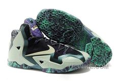 the best attitude fb710 f0c69 Shop Nike LeBron 11 All Star Gator King Top Deals black, grey, blue and more .