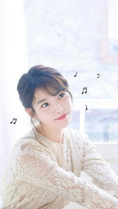 Iu and his songs Both are my life. Korean Actresses, Korean Actors, Actors & Actresses, Cute Korean, Korean Girl, Asian Girl, K Pop, Kdrama Actors, Iu Fashion