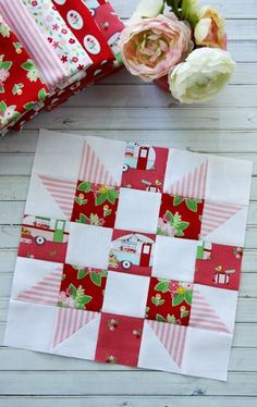 The Meet the Maker Quilt Along block 1 is the perfect project for beginners to quilting. The blocks of the quilt along are easy and make up a great quilt! Quilting For Beginners, Sewing Projects For Beginners, Quilting Tutorials, Sewing Tutorials, Sewing Tips, Sewing Hacks, Beginner Quilting, Quilting Ideas, Sewing Basics
