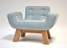 Blue Armchair Trends by Yellow Diva