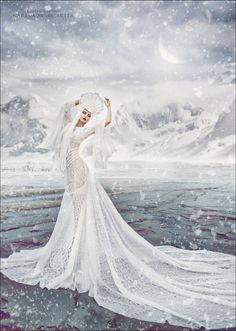 Icy by Margarita Kareva - Photo 127680913 - Foto Fantasy, Fantasy Dress, Fantasy Art, Fantasy Makeup, Snow Queen, Ice Queen, Art Magique, Snow Maiden, Elfa