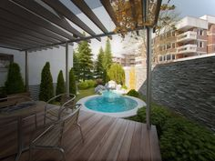 CGarchitect - Professional 3D Architectural Visualization User Community | Oasis In Backyard
