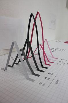 ejemplo de cifras a gran escala Keren shalev infographic, paper craft #infographics