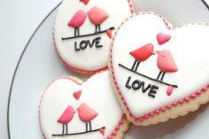 valentines cookies - Buscar con Google