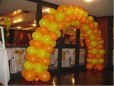 Como Fazer Arco De Bolas Para Festas – A criançada adora uma festa de aniversário, então abre mão de