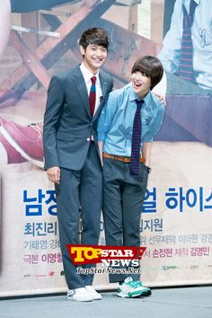 Sulli and Min Ho looking good together…'To the Beautiful You' Production Report Conference [KDRAMA]