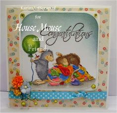 "House-Mouse & Friends Monday Challenge: Mid Way Reminder HMFMC #222 ""A Day Spent with Friends"""