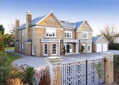 6 bedroom house for sale in Sunnydale, Farnborough Park, Kent, - Rightmove House Plans Uk, Dream House Plans, House Outside Design, House Design, Luxury Homes Dream Houses, Dream Homes, Millionaire Homes, 6 Bedroom House, Elegant Homes