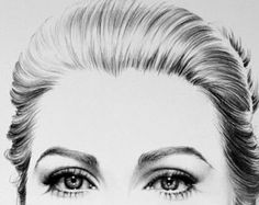 Items similar to Claudia Schiffer Minimalism Pencil Drawing Fine Art Portrait Signed Print on Etsy Portrait Sketches, Portrait Art, Grace Kelly, Audrey Hepburn Arte, Spa Art, Crayon Drawings, Art Drawings, Pencil Drawing Tutorials, Fine Art Drawing
