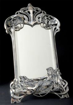 Beautiful Art Nouveau Mirror