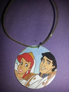 Princess Ariel and Prince Eric little mermaid vintage by Ginaxoxo3, $5.25  ginaxoxo3.etsy.com