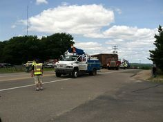 UPDATE: Power Restored, Road Reopened near Higgins Lake After Downed Power Line