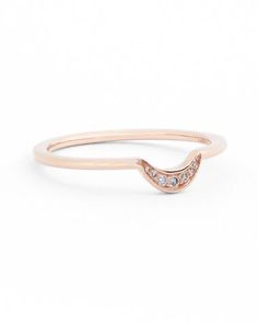 anna sheffield new moon diamond ring