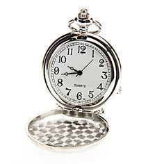 Unisex Casual legering analog quartz Pocket Watch (Silver) – DKK kr. 61